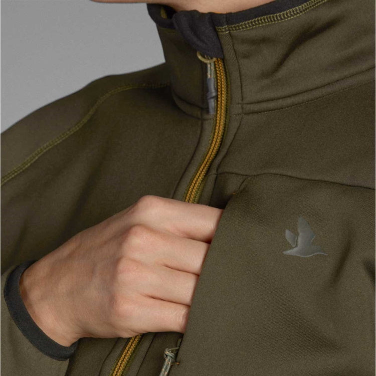 Seeland Hawker Full Zip Fleece - Pine Green
