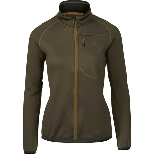 Seeland Ladies Hawker Full Zip Fleece - Pine Green