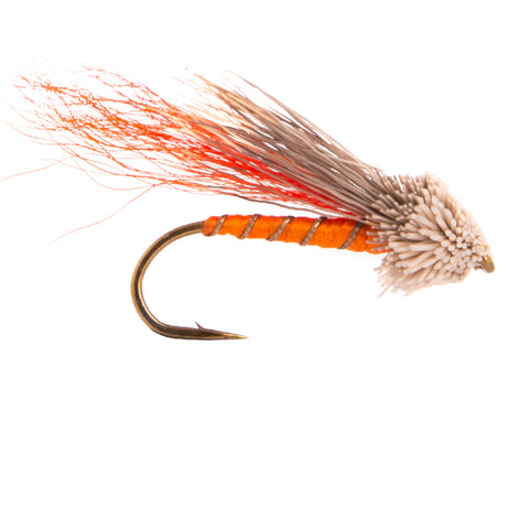 Orange Muddler Flies