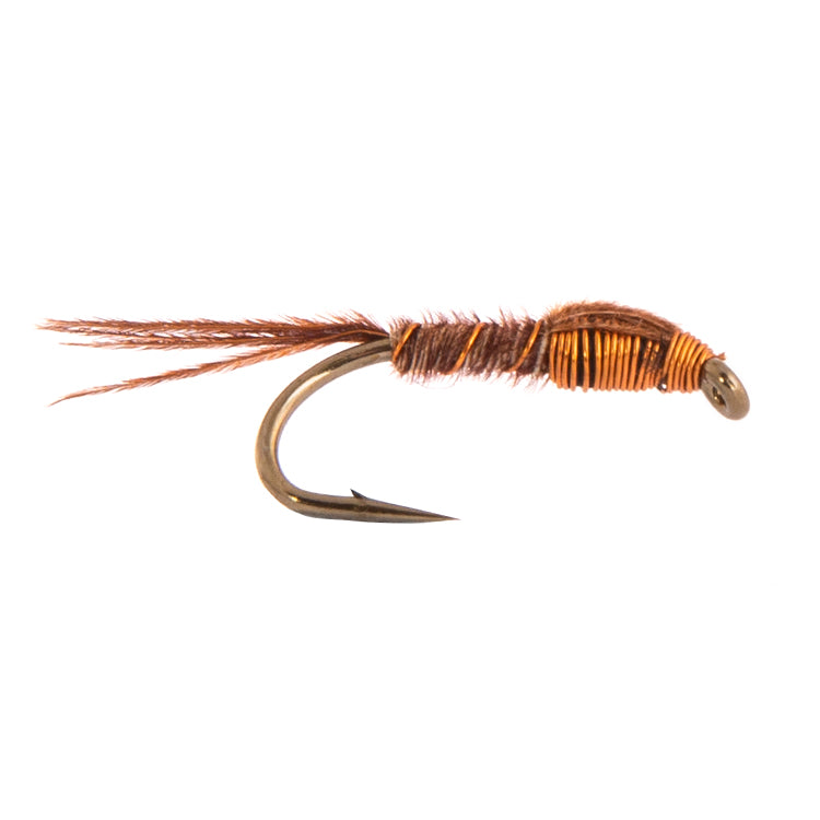 Pheasant Tail Copper Nymph Fly Flies