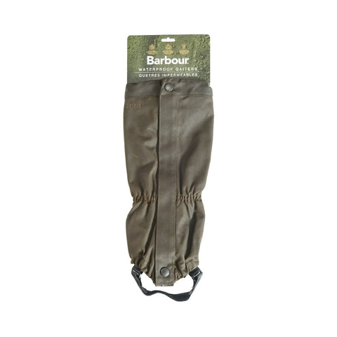 Barbour Wax Cotton Gaiters