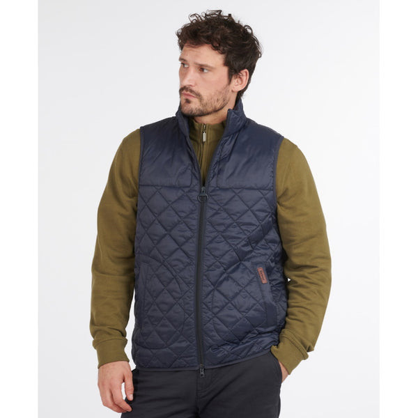 Barbour Mitchell Quilted Gilet - Navy