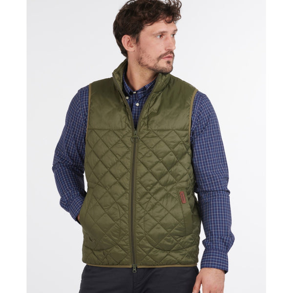 Barbour Mitchell Quilted Gilet - Olive