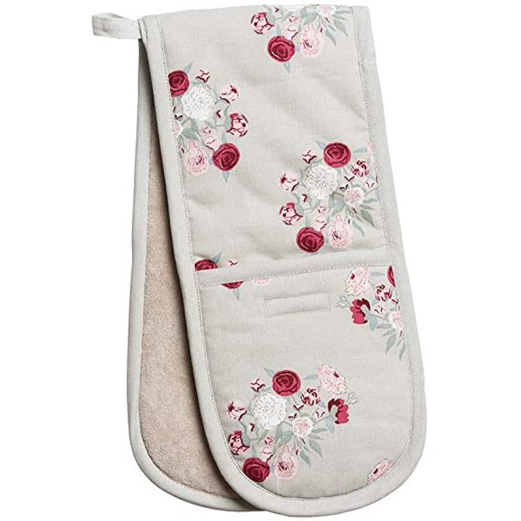 Sophie Allport Peony Double Oven Gloves