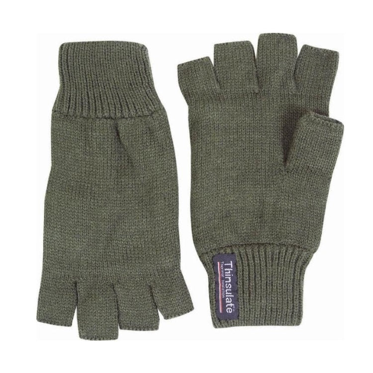 Jack Pyke Fingerless Mitts - Green