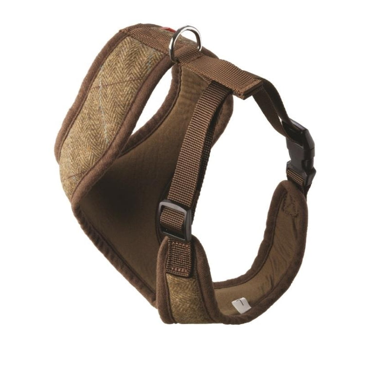 House of Paws Memory Foam Comfort Tweed Harness