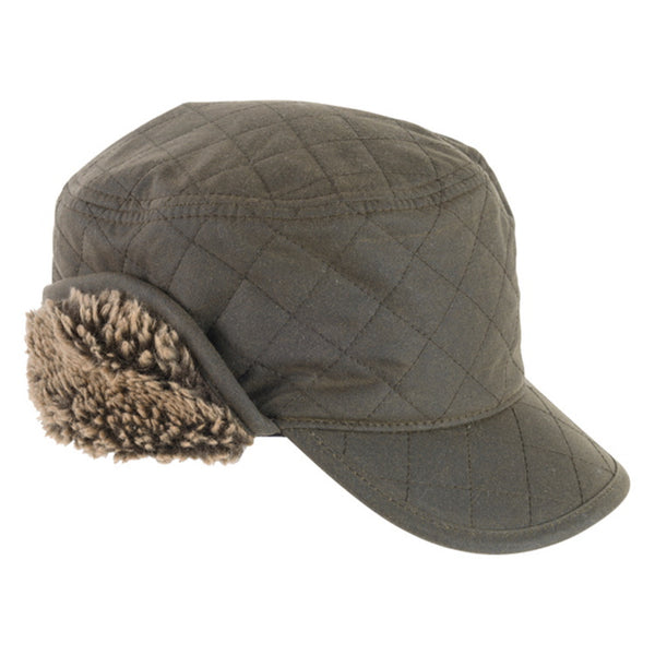 Barbour Stanhope Wax Hunting Cap