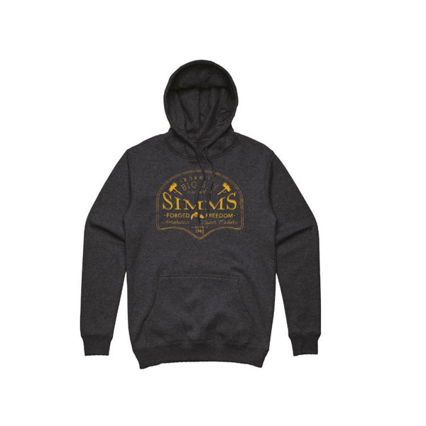 Simms Big Sky Hoody - Charcoal Heather