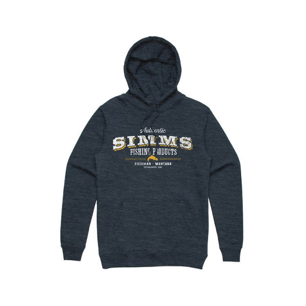 Simms Working Class Hoody - Navy Heather