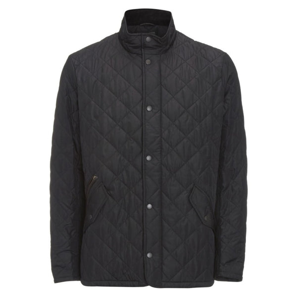 Barbour Chelsea Sports Quilt Jacket - Black