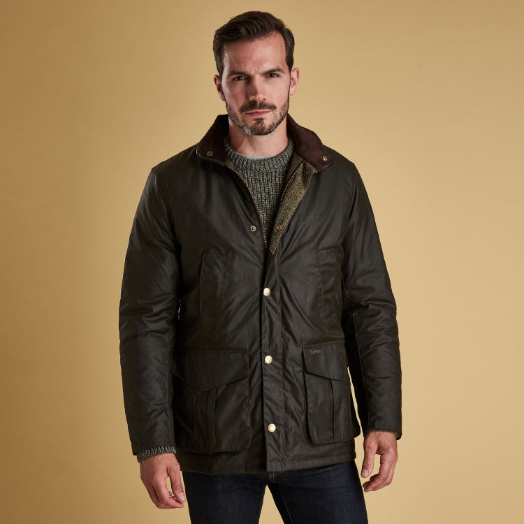 6c2ae3df4ad58 Barbour Hereford Wax Jacket | John Norris