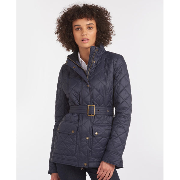 Barbour Ladies Bowland Quilt Jacket - Navy