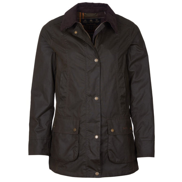 Barbour Ladies Fiddich Wax Jacket