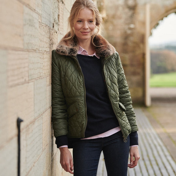 Barbour Ladies Hawthorns Quilt Jacket