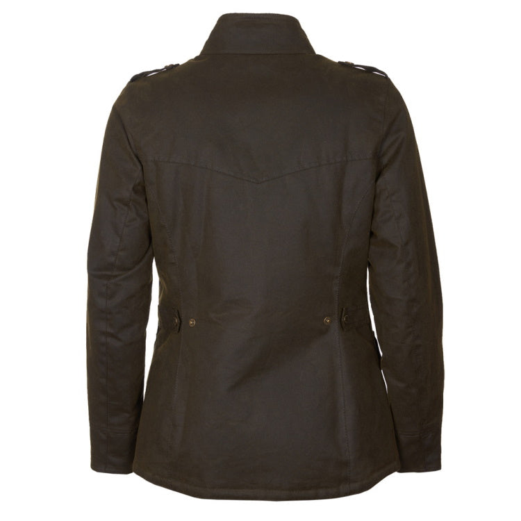 Barbour Ladies Winter Defence  Wax Jacket