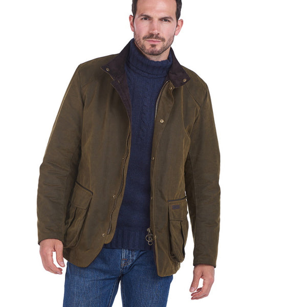 Barbour Gilpin Wax Jacket - Olive