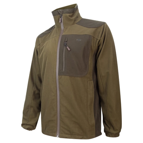 Hoggs of Fife Kinross Waterproof Field Jacket - Olive Green