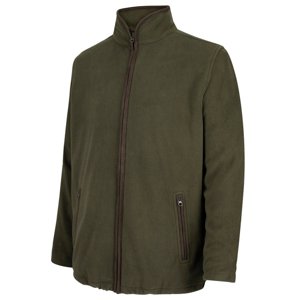 Hoggs of Fife Woodhall Fleece Jacket - Green