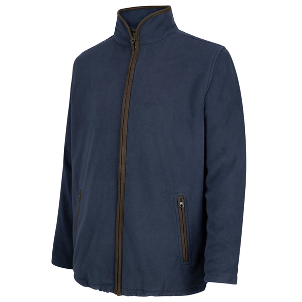 Hoggs of Fife Woodhall Fleece Jacket - Navy