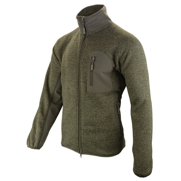 Jack Pyke Weardale Knitted Jacket - Green