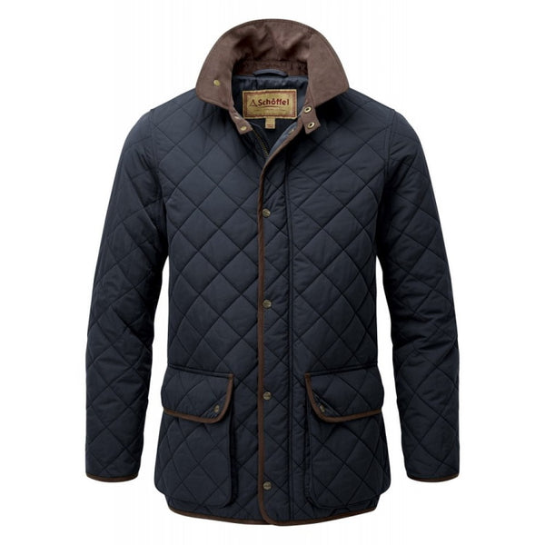 Schoffel Barrowden Quilt Jacket - Midnight