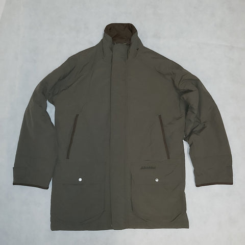 USED Schoffel Ptarmigan Superlight Shooting Coat - Forest Green Size 40in (Factory Repaired) (483)