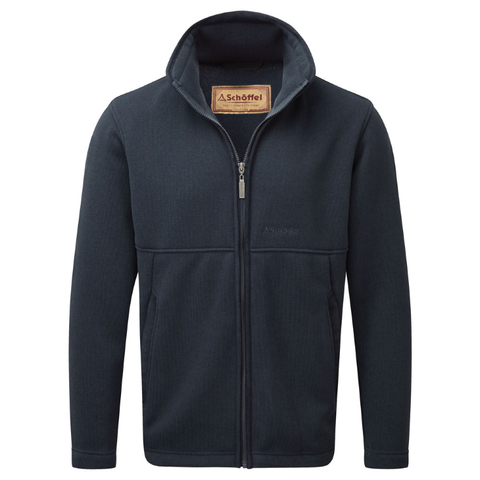 Schoffel Marlborough Fleece Jacket - Navy