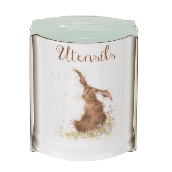 Royal Worcester Wrendale Designs Utensil Jar - Hare