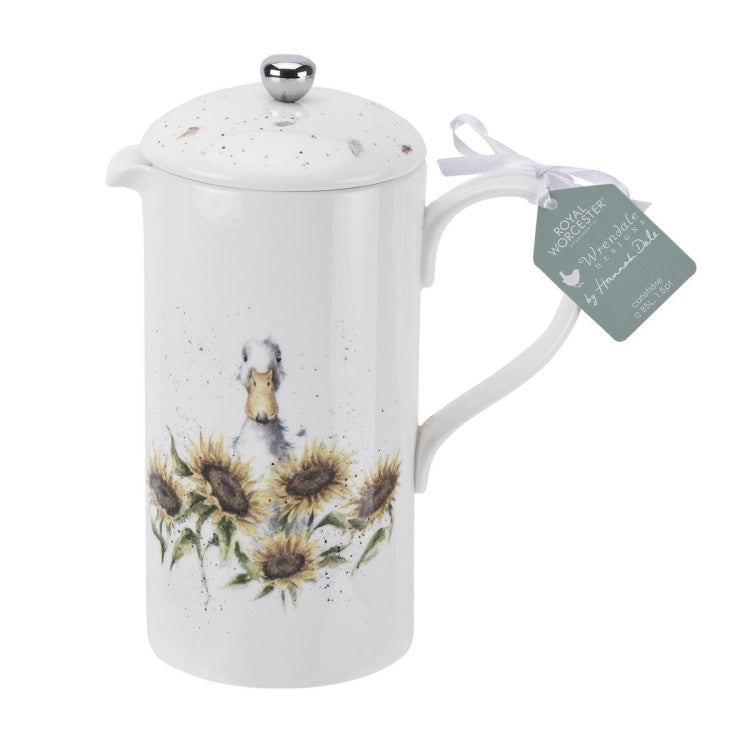 Royal Worcester Wrendale Designs Cafetiere - Duck