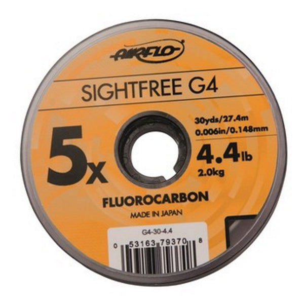 Airflo Sightfree G4 Fluorocarbon Leader 110YDS