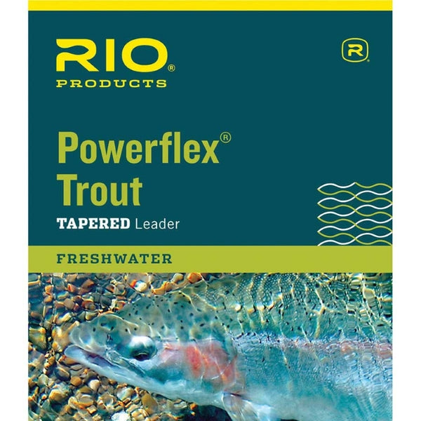 Rio Powerflex Trout Tapered Leaders
