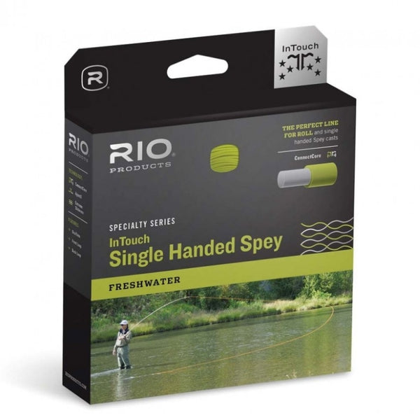 Rio In Touch 3D Single Handed Spey Line - Float/Hover/Intermediate
