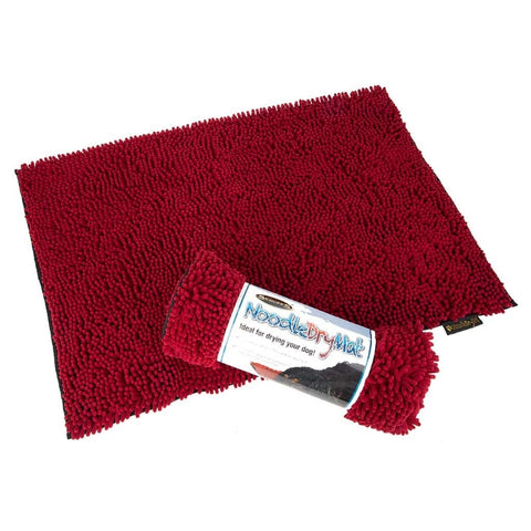 Scruffs Noodle Dry Mat - Burgundy