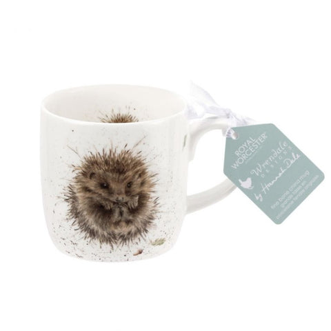 Royal Worcester Wrendale Fine Bone China Mug - Awakening Hedgehog