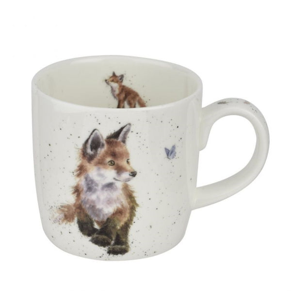 Royal Worcester Wrendale Fine Bone China Mug - Born to be Wild (Fox)