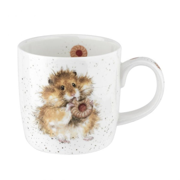 Royal Worcester Wrendale Fine Bone China Mug - Diet Starts Tomorrow (Hamster)