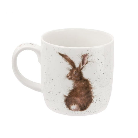 Royal Worcester Wrendale Fine Bone China Mug - The Hare and the Bee