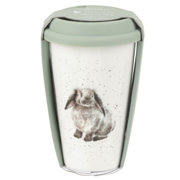 Royal Worcester Wrendale Travel Mug - Rosie (Rabbit)