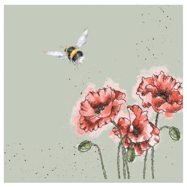 Wrendale Designs Flight of the Bumblebee Lunch Napkins