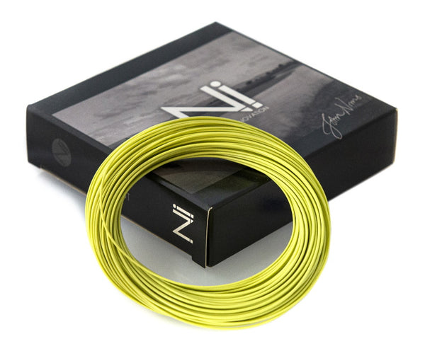 John Norris Ni1 WF Presentation Stealth Floating Fly Line - Olive