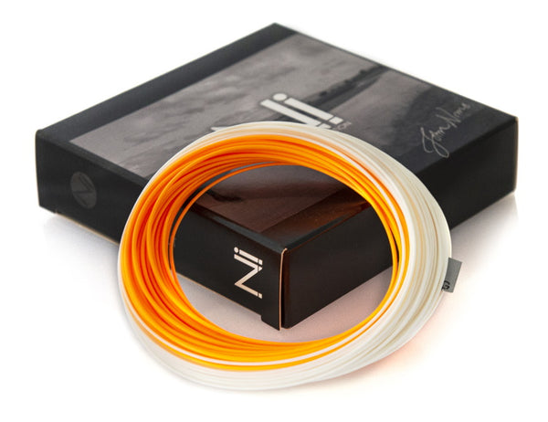 John Norris Ni1 Twin Colour Extreme Distance Hi-Vis Floating Fly Line