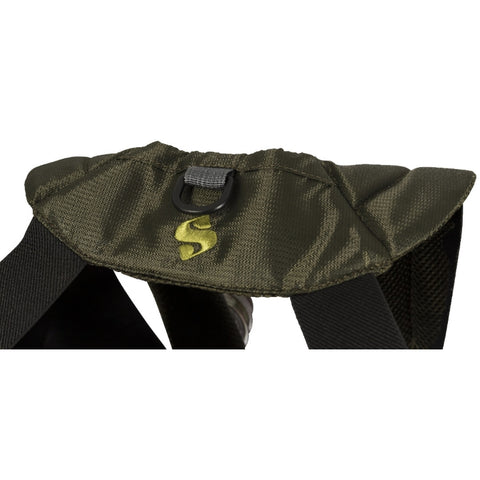Snowbee Ultralite Chest Pack - Rear D-ring for landing net