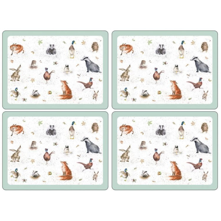 Pimpernel Wrendale Placemats - Large Set of 4