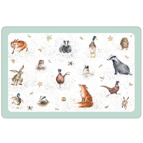 Pimpernel Wrendale Pet Placemat - Country Animals
