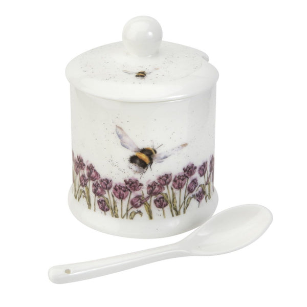 Royal Worcester Wrendale Designs Conserve Pot - Bumble Bee