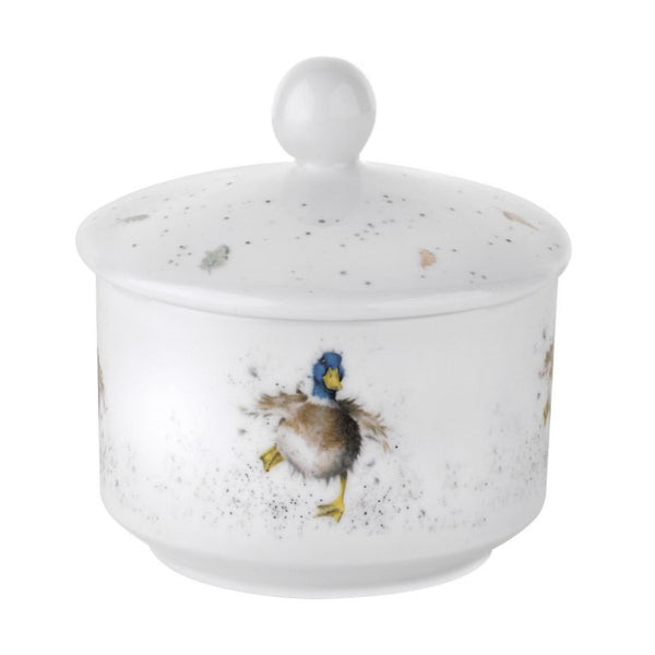 Royal Worcester Wrendale Sugar Pot - Duck