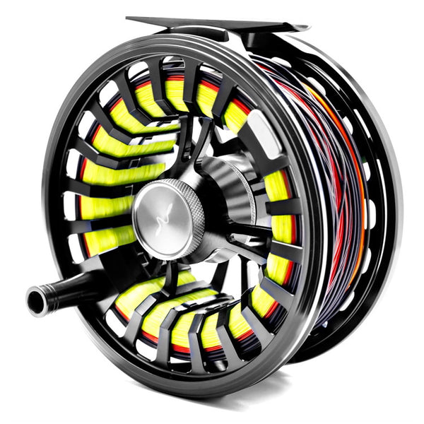 Guideline Halo Fly Reels - Black Stealth