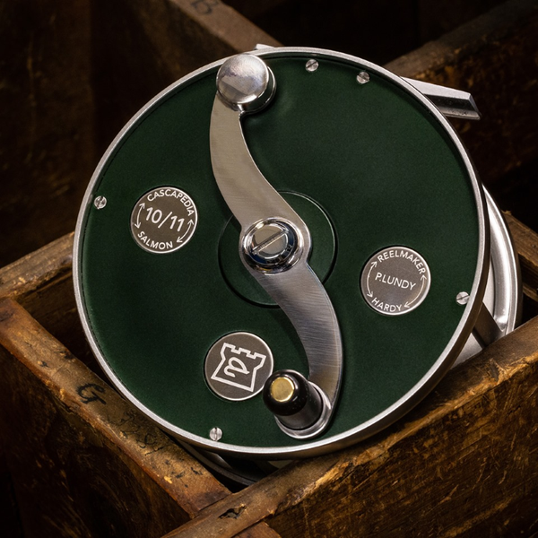 Hardy Cascapedia Fly Reels - Limited Edition - British Racing Green