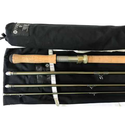 USED 14ft Hardy Angel 2 9 Line 4pc DH Salmon Fly Rod (974)