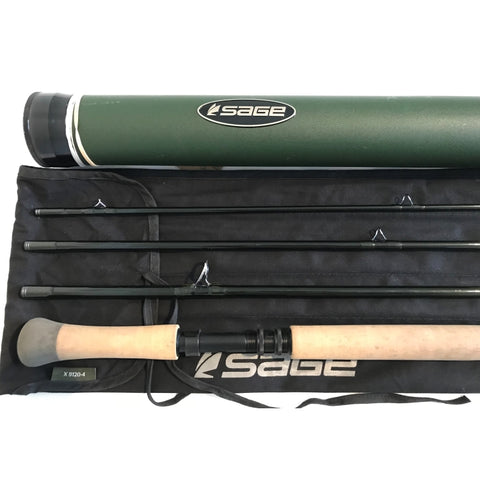USED 12ft Sage X Spey 9 Line 4pc Salmon Fly Rod (939)